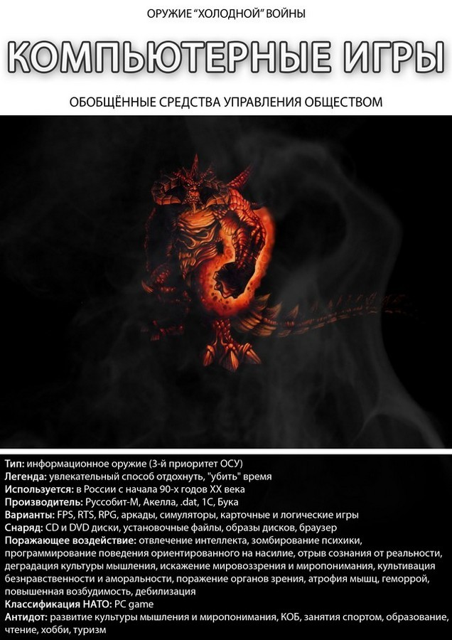preduprezhden znachit vooruzhen 31 Агитпроп: Предупрежден, значит вооружен!