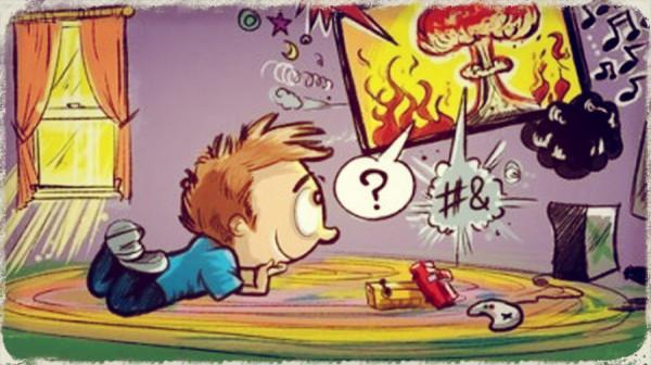 influence of cartoons on children essay