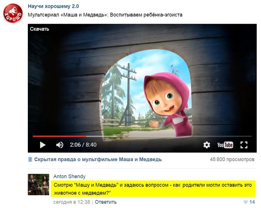 Masha Пасхальная страничка