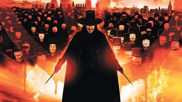 film v znachit vendetta 2005 5 Фильм «V   значит Вендетта» (2005): Гламурный террор, который ведёт в никуда