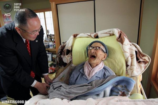globalnoe shou samyj pozhiloj chelovek mira 3 Глобальное шоу: Самый пожилой человек мира