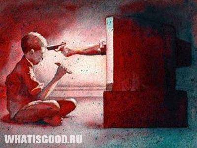 k koncu shkoly rebenok prosmatrivaet 8000 scen s ubijstvami 3 Насилие на экране провоцирует жестокость?