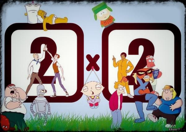 Краткая справка о содержании мультфильмов телеканала «2x2»