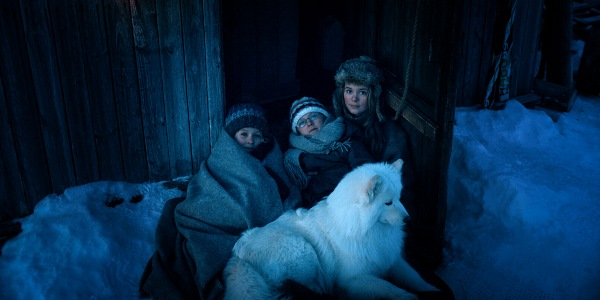 Kaisa Gurine Antonsen Ida Leonora Valestrand Eike og Leonard Valestrand Eike i Operasjon Arktis Фильм «Выжить в Арктике» (2014): Природа   лучший учитель