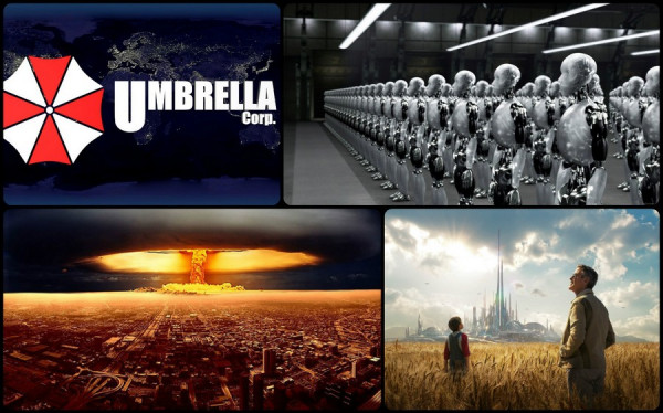 Сценарии будущего в западном кинематографе