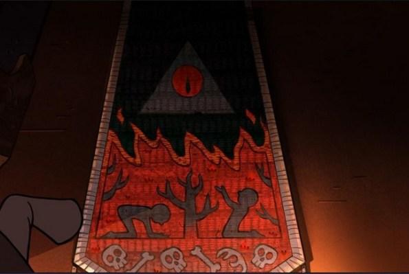 graviti folz urodstva i okkultizm kak povod dlya yumora v detskom multfilme 21 1 Мультфильм «Гравити Фолз» (Gravity Falls): Психоделика для детей
