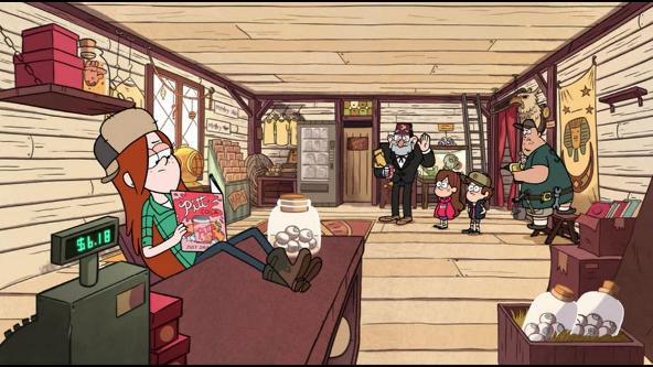 graviti folz urodstva i okkultizm kak povod dlya yumora v detskom multfilme 66 Мультфильм «Гравити Фолз» (Gravity Falls): Психоделика для детей