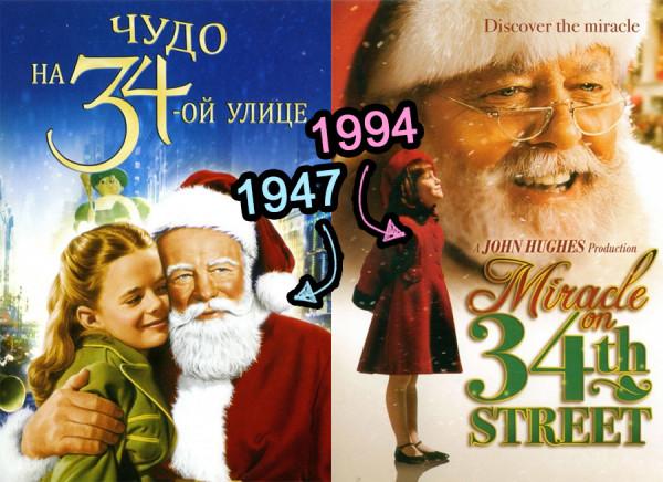 Санта против капитализма: Сравнительный анализ фильмов «Чудо на 34-ой улице» 1947 и 1994 годов