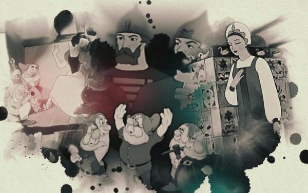 Семь богатырей против семи гномов