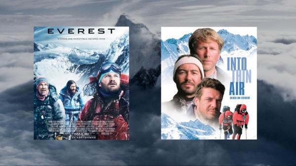 История одной трагедии на Эвересте в интерпретации двух фильмов