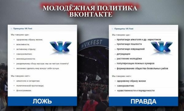 vk fest dvoynyie standartyi vkontakte VK Fest: Двойные стандарты ВКонтакте