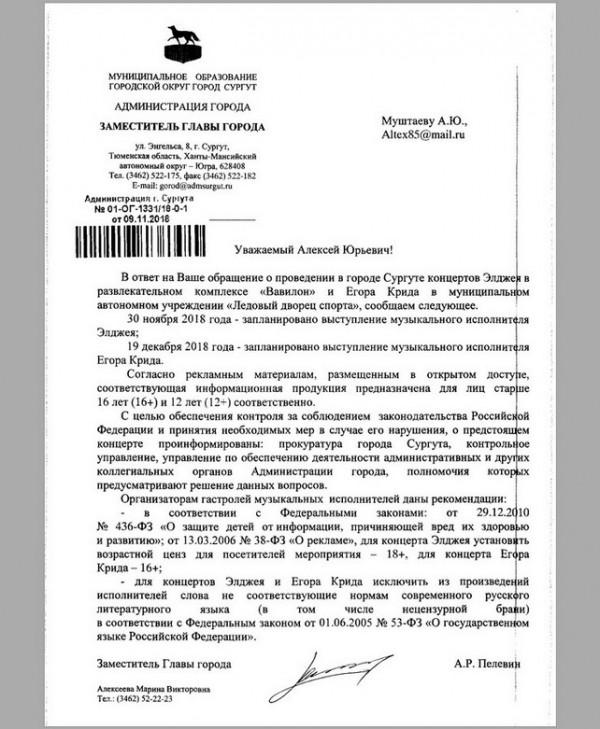 surgut 27 Доедут ли Крид и Элджей до Сургута? Обращение рабочей молодёжи Сибири
