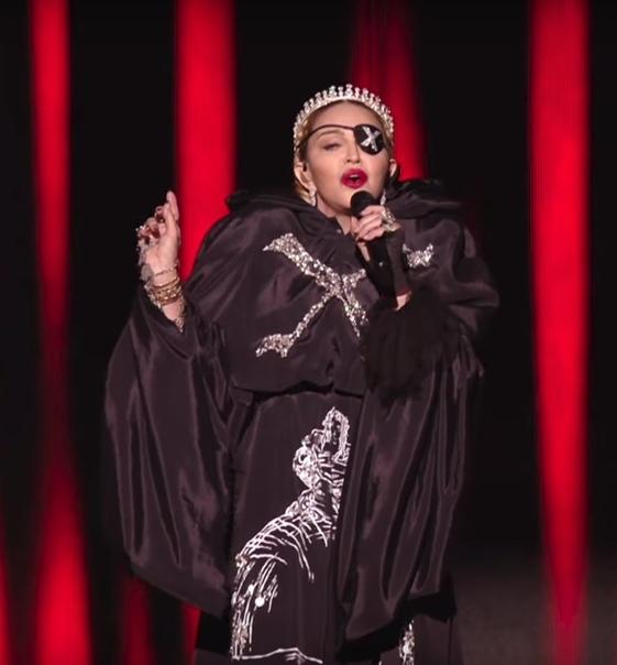 Откровенный сатанизм в выступлении Мадонны на Евровидении-2019