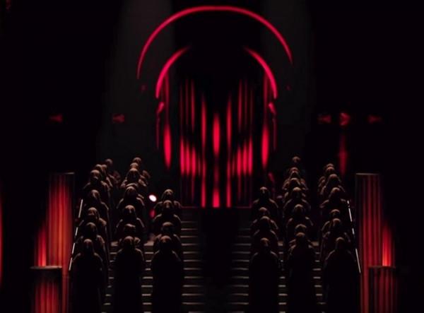 otkrovennyiy satanizm v vyistuplenii madonnyi na evrovidenii 2019 3 Откровенный сатанизм в выступлении Мадонны на Евровидении 2019