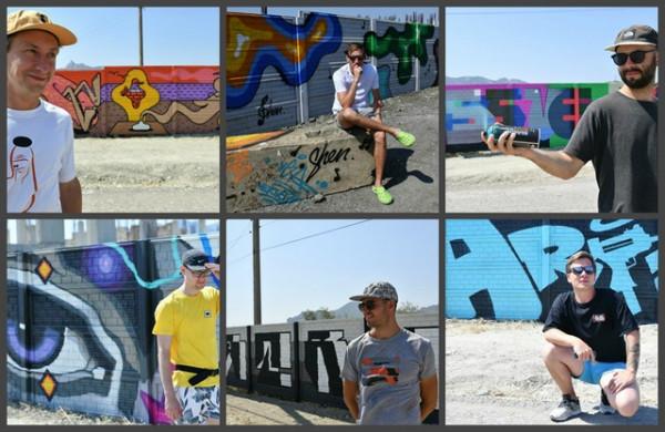 graffiti v koktebele mestnyie zhiteli dovolnyi  Граффити в Коктебеле. Местные жители довольны?
