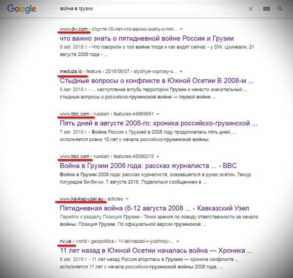 Как манипулирует поисковик Google